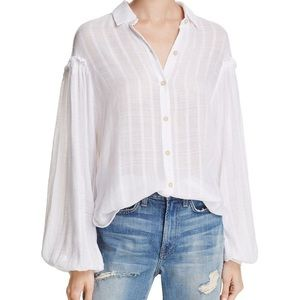 Free People Headed To The Highlands Button Top